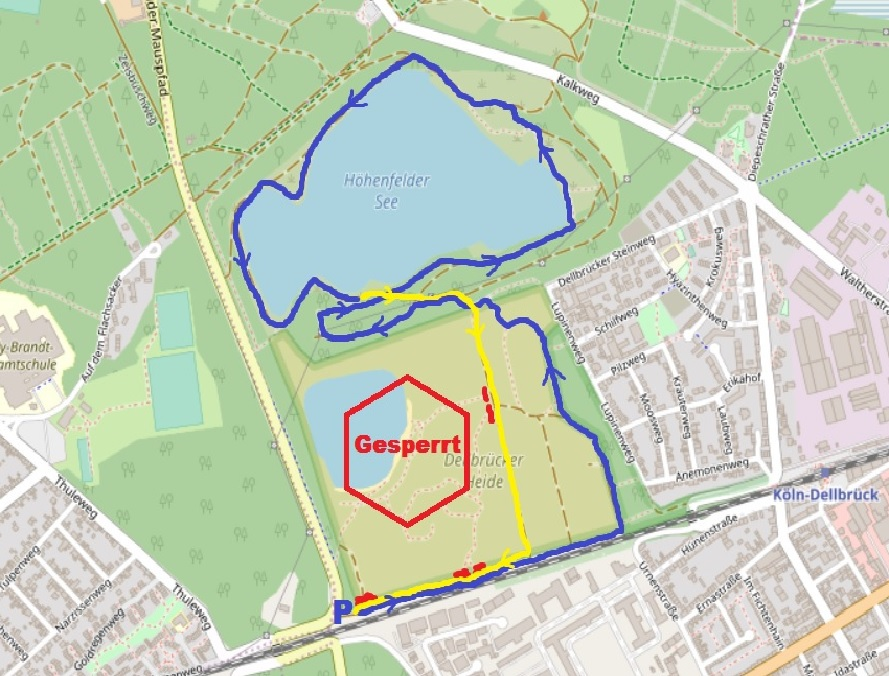 Hundefreilaufflächen Köln